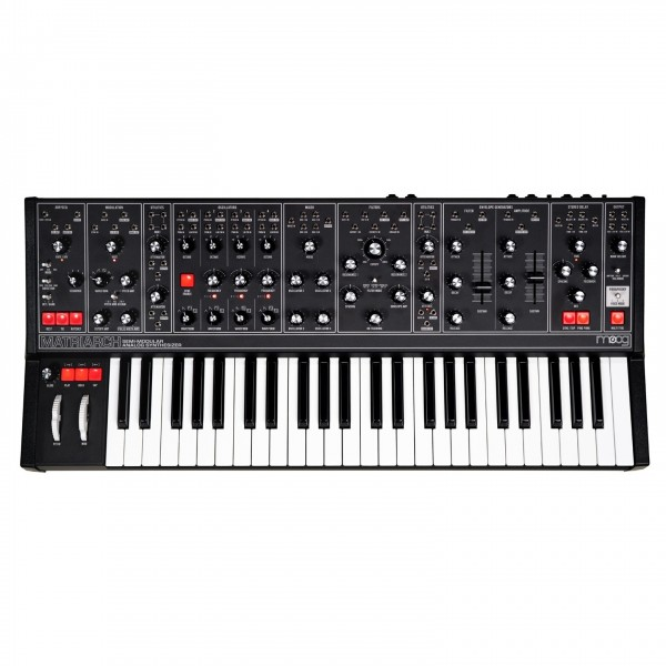 Moog Matriarch Paraphonic Analog Synth, Dark Series - Top