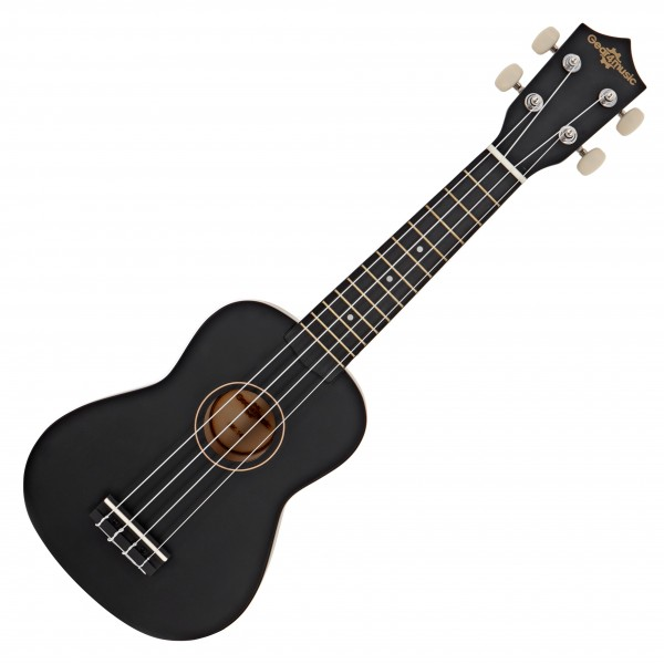 Ukulele by Gear4music, Black