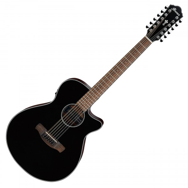 Ibanez AEG5012, Black High Gloss