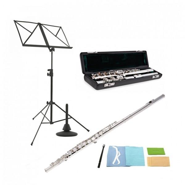 Rosedale Intermediate Flute by Gear4music + Accessory Pack