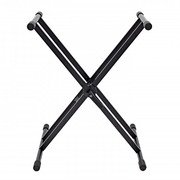 K&M 18990 X Frame Keyboard Stand, Black