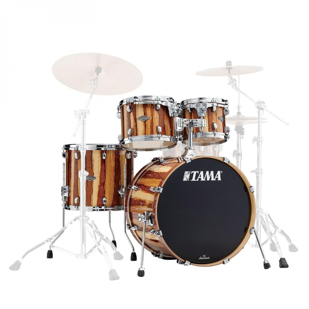Tama Starclassic Performer 22 4pc Shell Pack, Caramel Aurora
