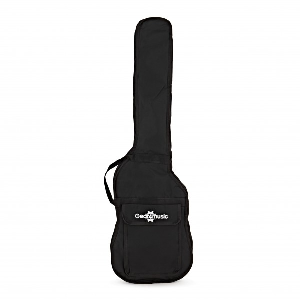 3/4 Size Value Bass Guitar Bag with Straps by Gear4music