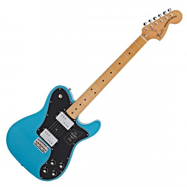 Fender FSR Vintera 70s Telecaster Deluxe, Lake Placid Blue