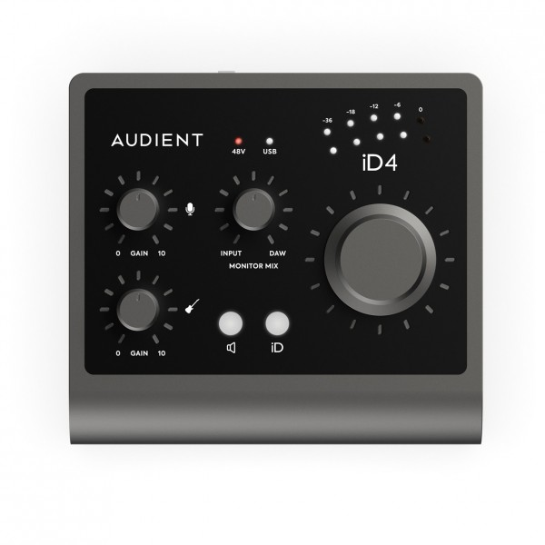 Audient iD4 MKII 2 Channel USB Audio Interface