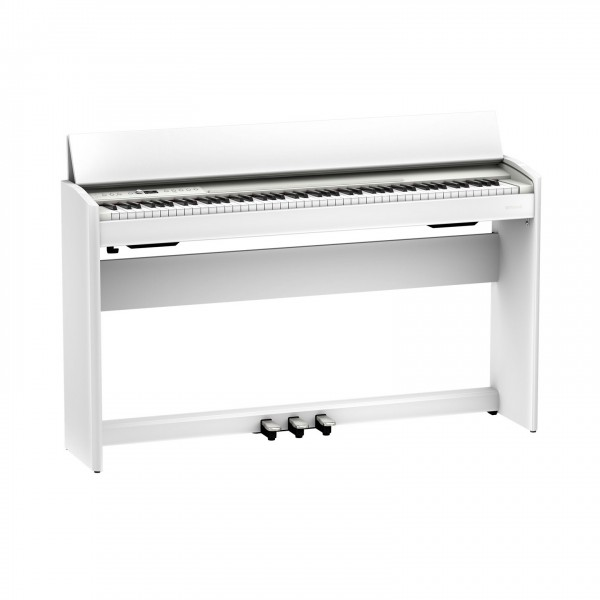 Roland F701 Digital Piano, White