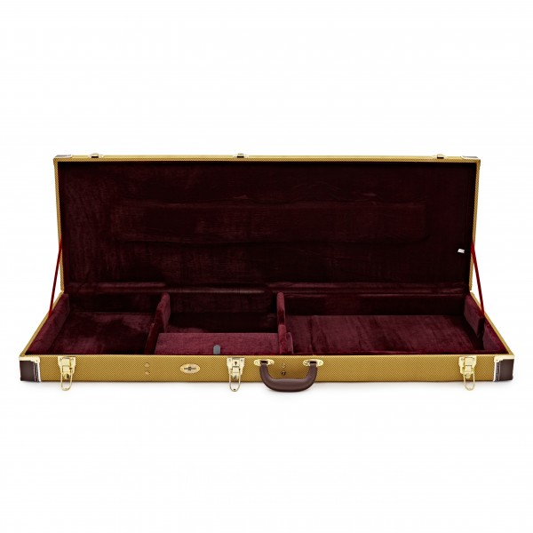 Electric Bass Guitar Case by Gear4music, Tweed