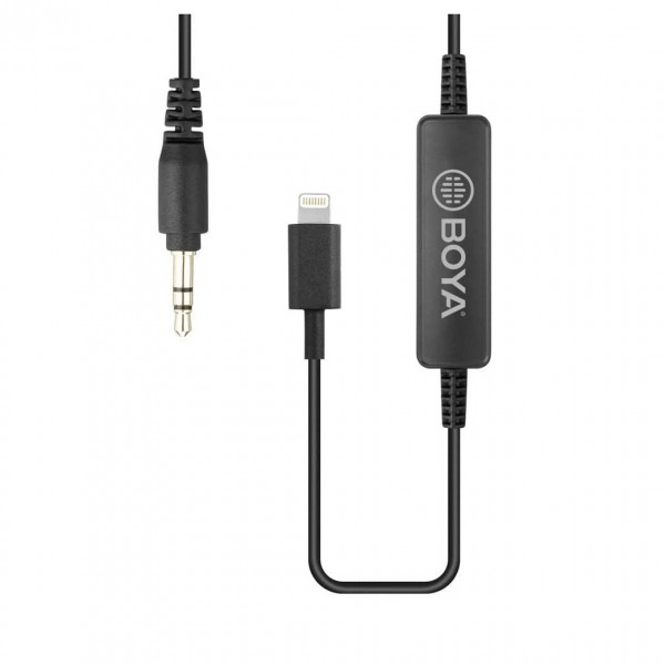 BOYA 35C-L 3.5mm to Lightning Connecting Cable MFi Certified - Cable