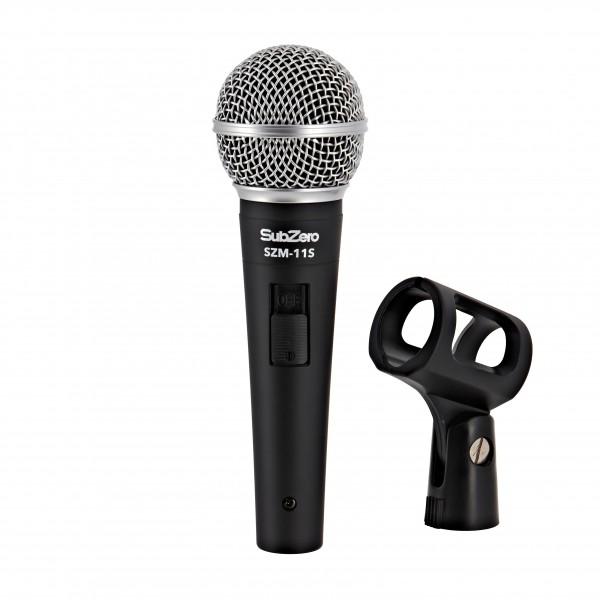 SubZero SZM-11S Dynamic Vocal Microphone with Switch