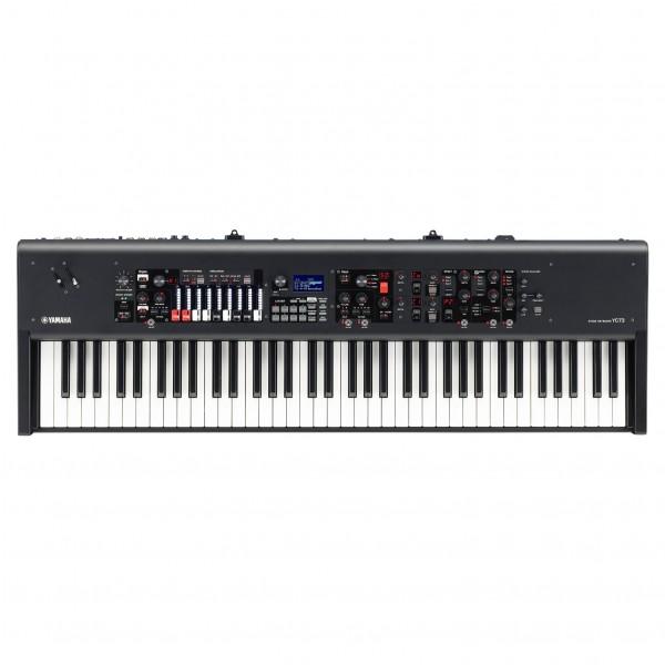 Yamaha YC73 Digital Stage Piano with Drawbars - Top