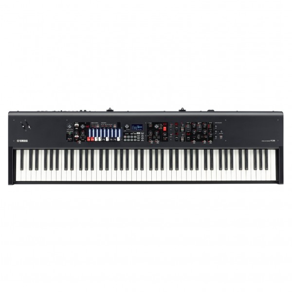 Yamaha YC88 Digital Stage Piano with Drawbars - Top