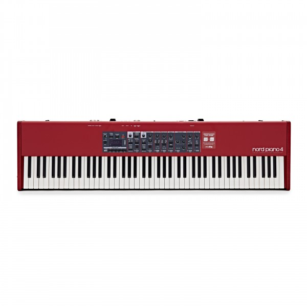 Nord Piano 4 with 88 ABS Keyboard Case by Gear4music