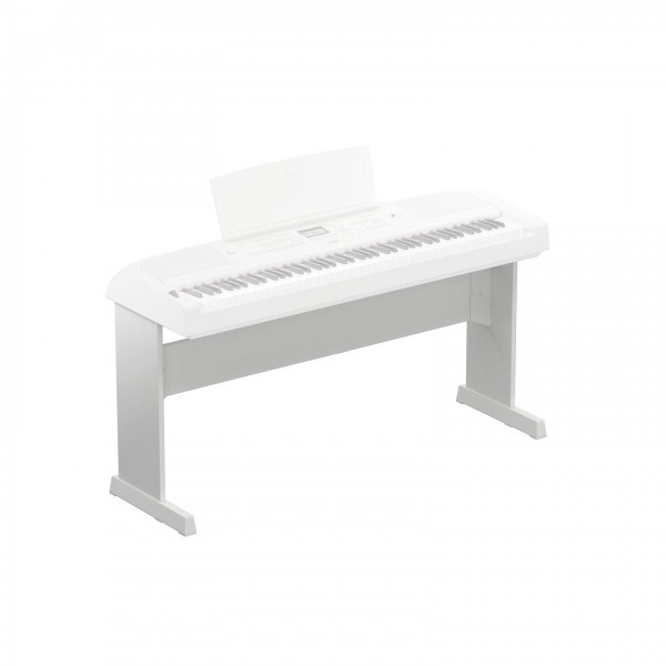 Yamaha L300W Stand for DGX 670, White