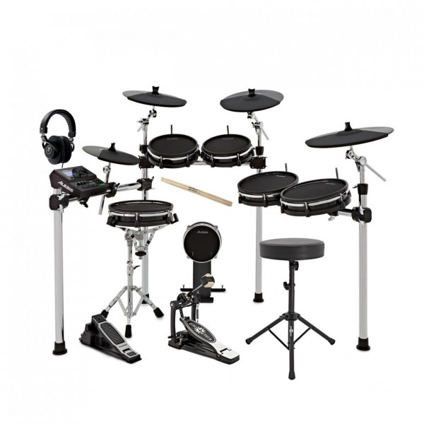 Alesis DM10 MKII Pro Electronic Drumkit - Mackie MC-100