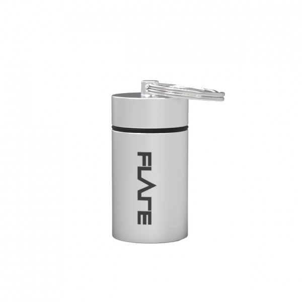 Flare Audio Capsule, Large, Silver - Front
