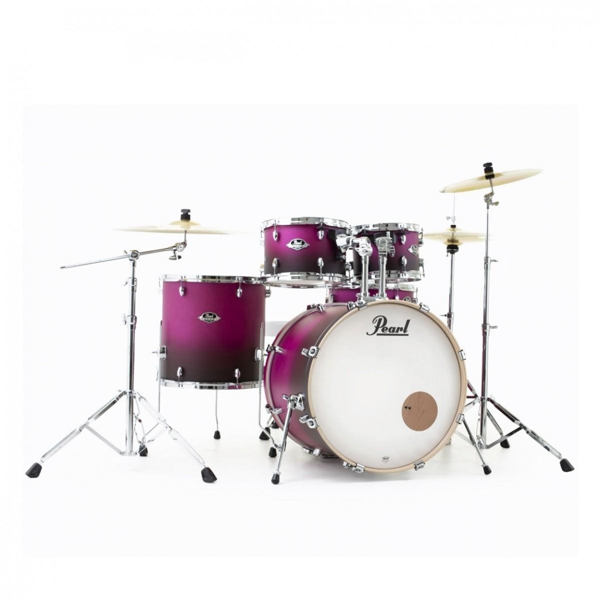 Pearl Export EXL 22'' American Fusion Drum Kit, Raspberry Sunset