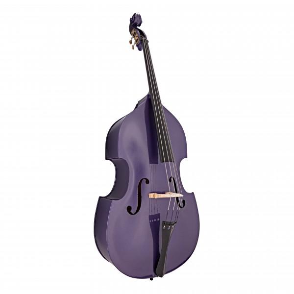 Stentor Rockabilly Double Bass, Purple, 3/4