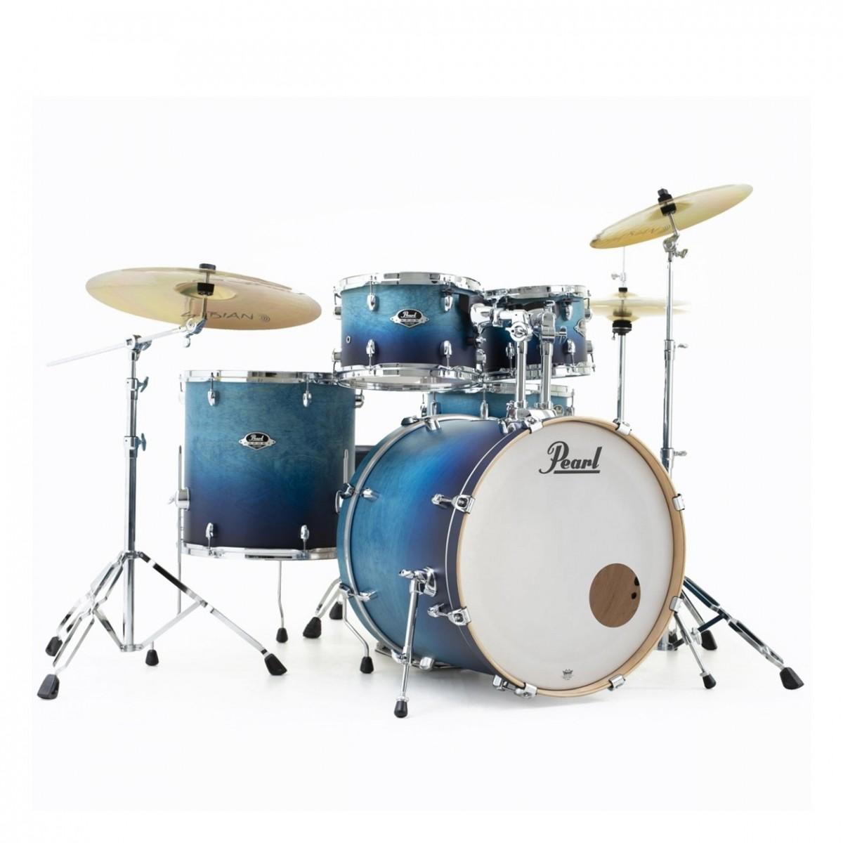 Pearl Export EXL 22'' American Fusion Drum Kit, Azure Daybreak