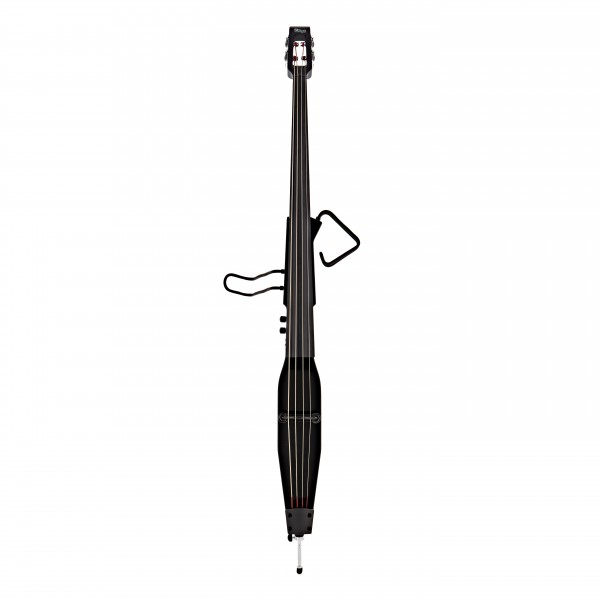Stagg Electric Double Bass, Metallic Black, 3/4