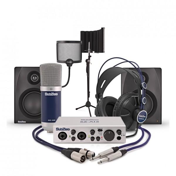 SubZero BASE-2 Complete Vocalist Recording and Monitoring Bundle
