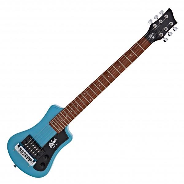 Hofner HCT Shorty Electric Guitar, Blue