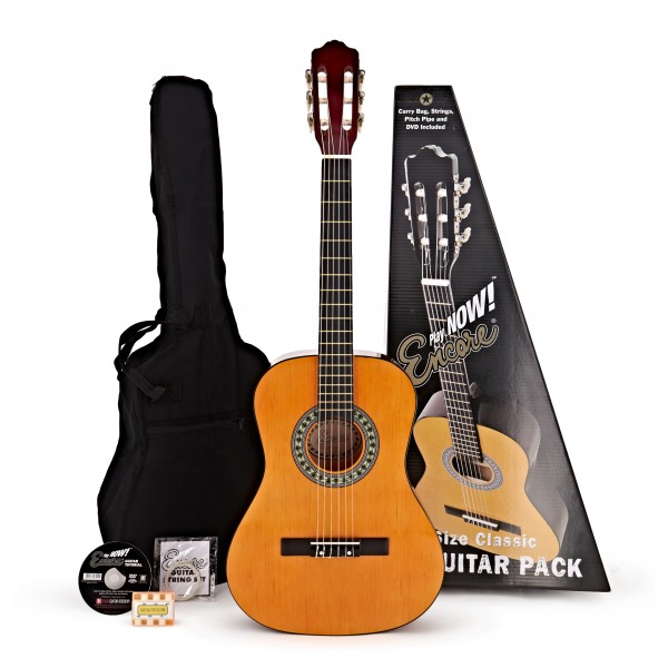 Encore 1/2 size Classical Guitar Pack