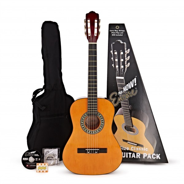 Encore 3/4 Size Classical Guitar Pack