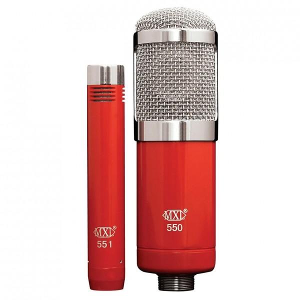 MXL 550/551 Large Diaphragm Plus Instrument Microphone