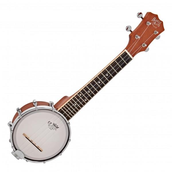 Barnes & Mullins UBJ2 Banjo Ukulele, Open Back