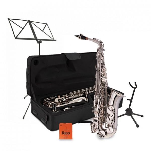 Alto Saxophone Complete Package, Nickel