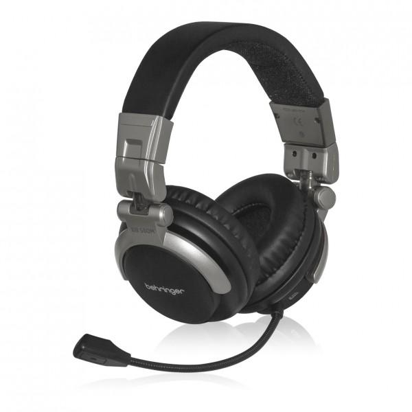 Behringer BB 560M Headphones wih Built-In Microphone - Angled Left