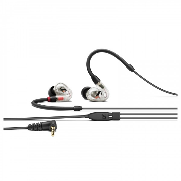 Sennheiser IE 100 Pro In-Ear Monitors, Clear - Front