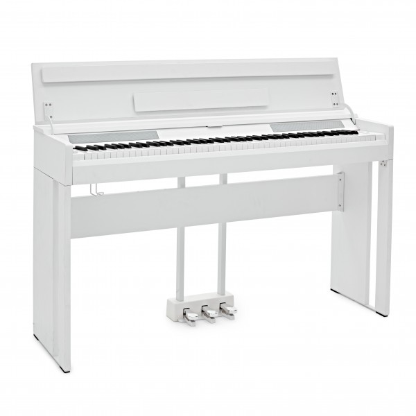 DP-12 Compact Digital Piano by Gear4music, White