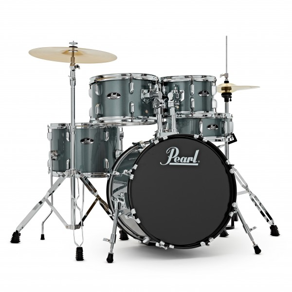 Pearl Roadshow 5pc Compact Drum Kit, Charcoal Metallic