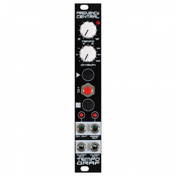 Frequency Central Tempograf Tap Tempo Module (4HP) - Front