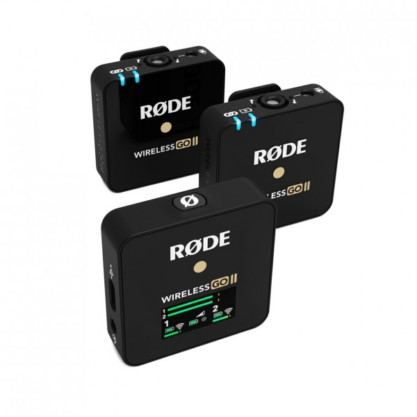 Rode Wireless Go II - Front Angled Right