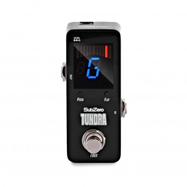 SubZero Tundra Tuner Micro Guitar Pedal