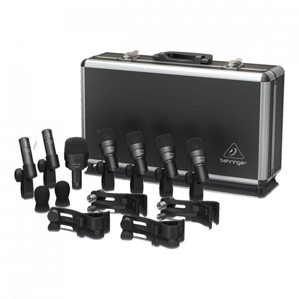 Behringer BC1200 7-Piece Drum Microphone Set - Full Set