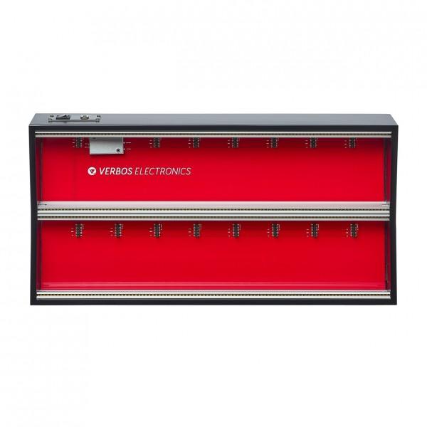 Verbos Electronics Case 2x104HP black - Top