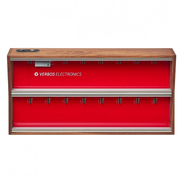 Verbos Electronics Case 2x104HP, Wood - Top
