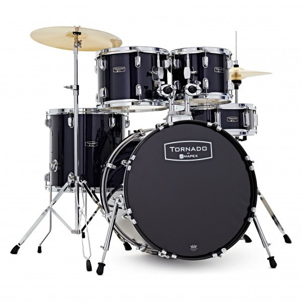 "Mapex Tornado III Fusion 20"" Drum Kit, Blue"