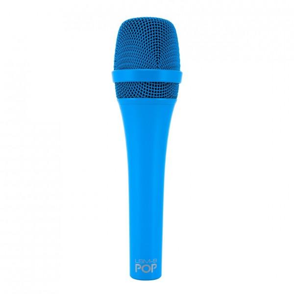 MXL LSM9 Dynamic Vocal Microphone, Blue - Front
