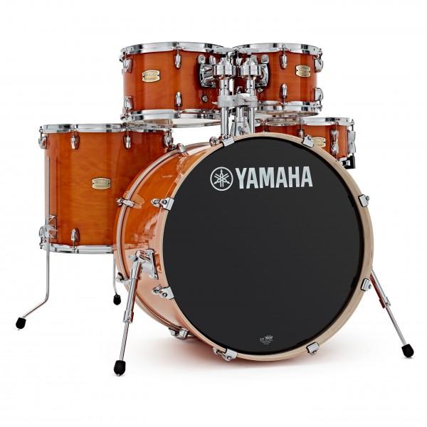 Yamaha Stage Custom Birch 20'' 5pc Shell Pack, Honey Amber