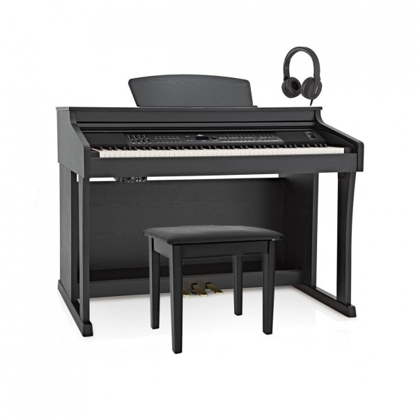 DP-50 Digital Piano by Gear4music + Piano Stool Pack