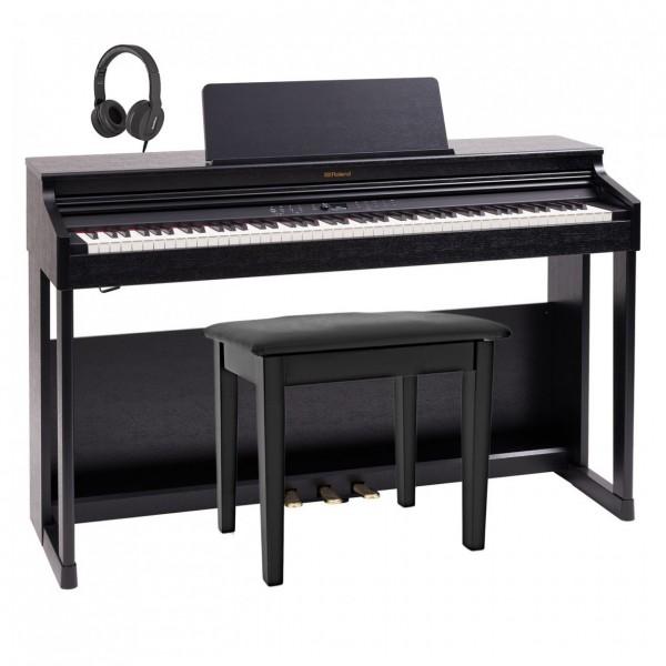 Roland RP701 Digital Piano Package, Contemporary Black