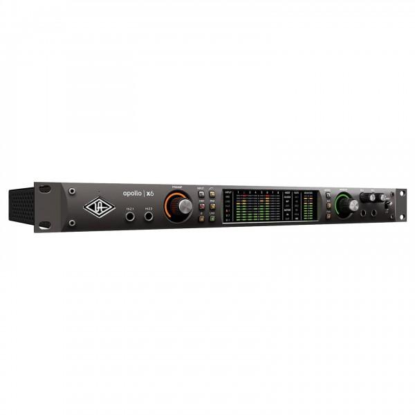 Universal Audio Apollo x6 Heritage Edition (Rack/Mac/Win/TB3) - Angled