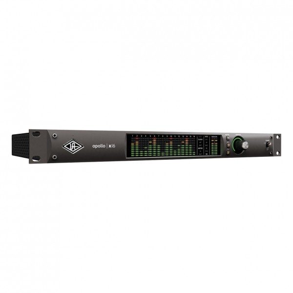 Universal Audio Apollo x16 Heritage Edition (Rack/Mac/Win/TB3) - Front