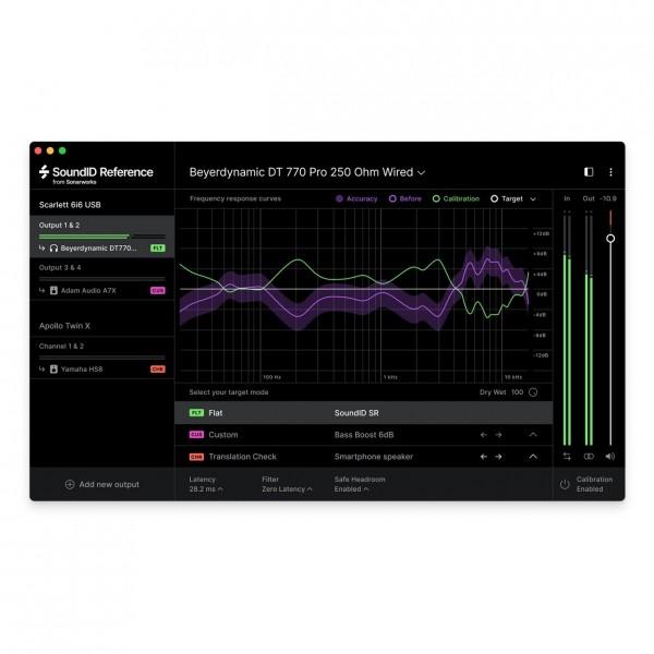 Sonarworks SoundID Reference - Speaker & Headphone, Digital Delivery - Software Preview