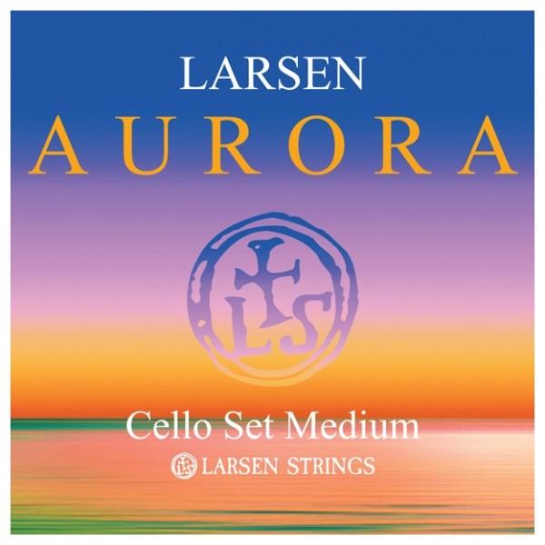 Larsen Aurora Cello String Set, 4/4 Size, Medium