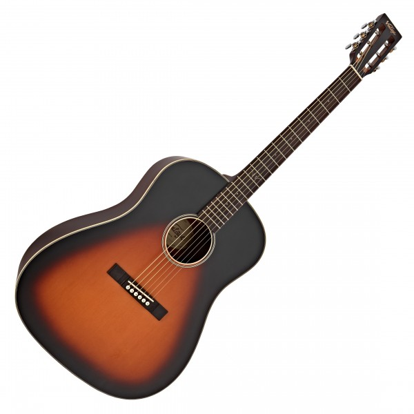 Vintage Historic Series VE660 Electro Acoustic Guitar